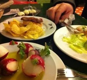 Las Golondrinas a Siviglia: mangiare low cost
