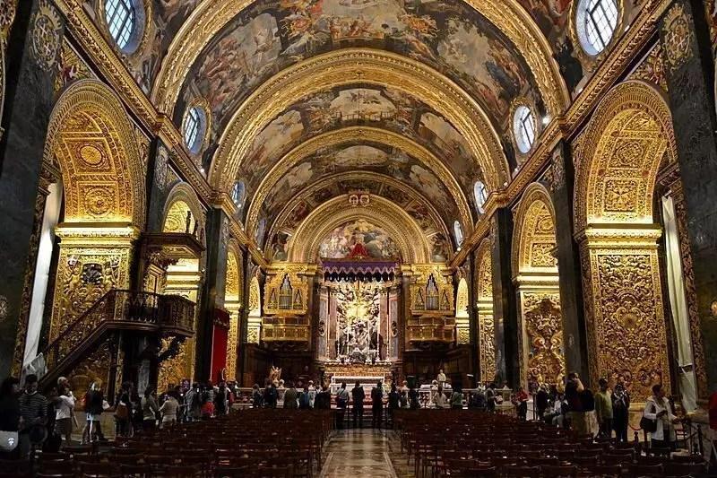 Risultati immagini per cattedrale di san giovanni malta