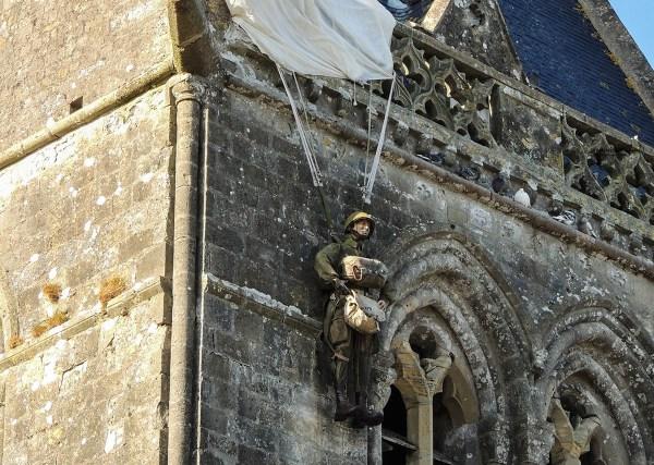 Sainte-Mère-Église in Normandia