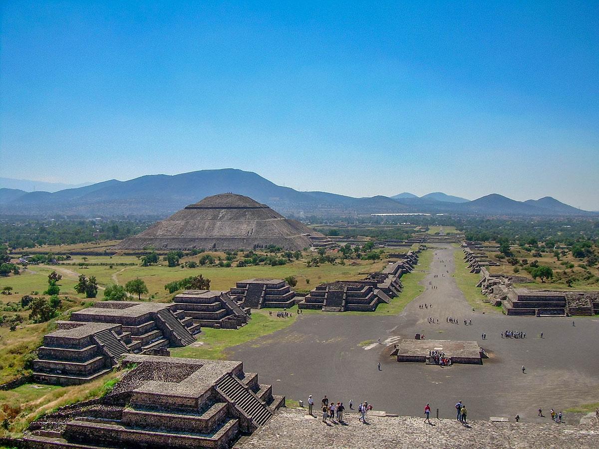La cultura Teotihuacana in Messico
