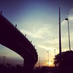 Atardecer en Santo Domingo: El Elevado