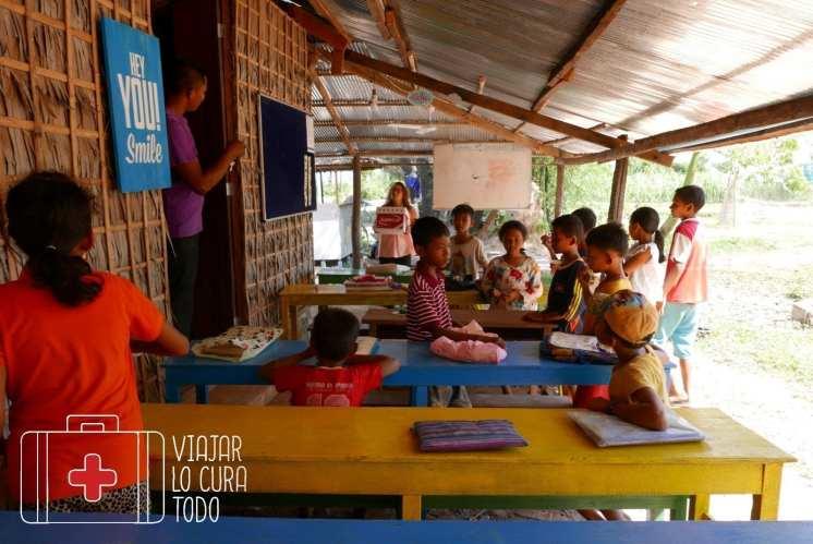 Camboya sonríe, una escuela rural