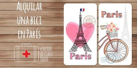 alquilar bici en paris
