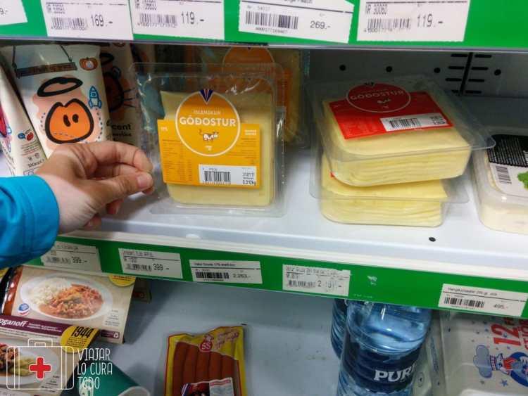 2263ISK un paquete de queso...