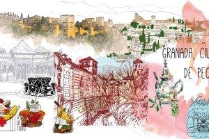 Elementos de Granada, creados gracias a archivos de Shutterstock