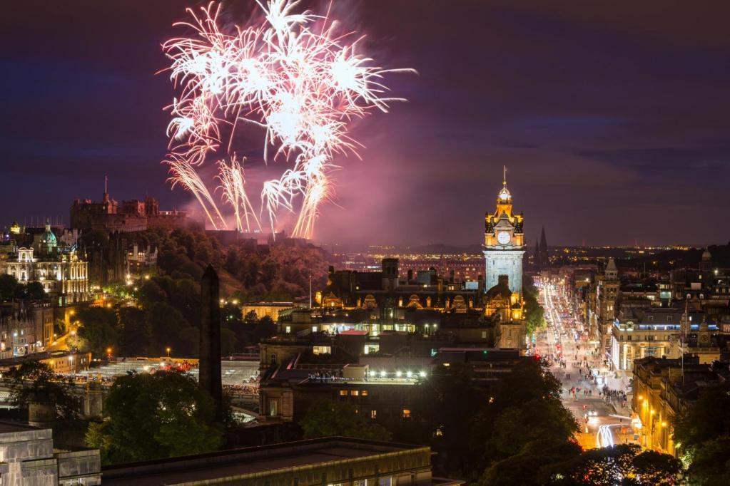 New Years Eve in Edinburgh, Scotland