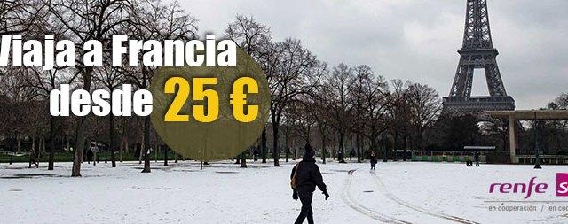 Viaja a Francia desde 25 euros
