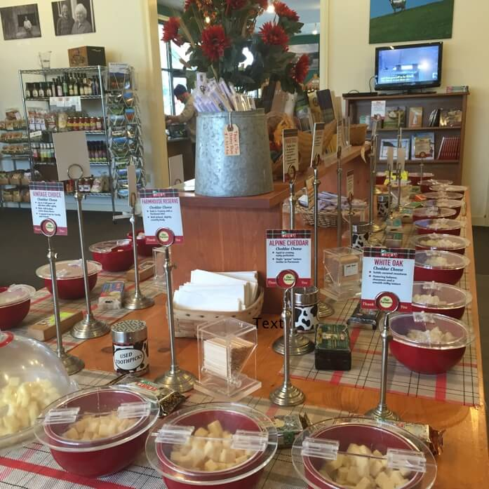 Cheese Spread at Cabot's Annex Store