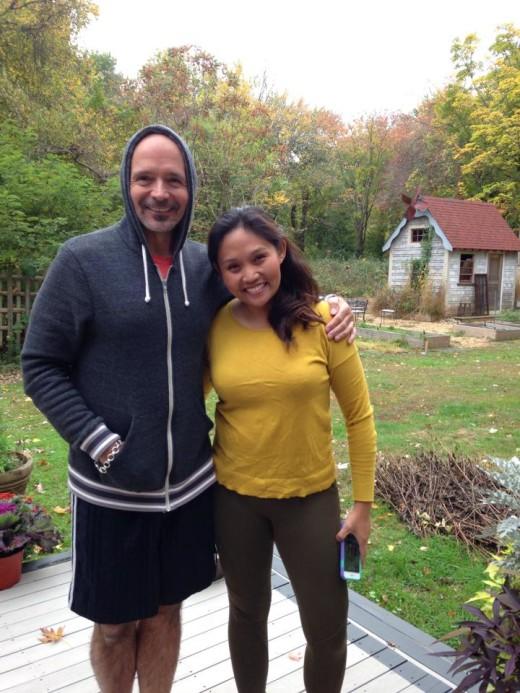 Gracious host Michael who built his dream home in Rhode Island