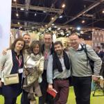 Con Mónica Castelao, Diego Pons, Fatima M. Lopez, Fidel Martin y Mario Schumacher