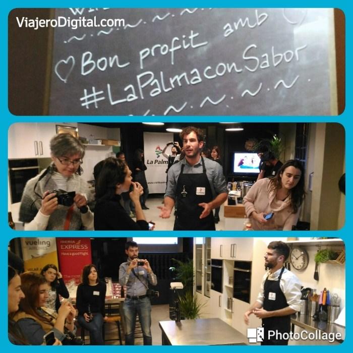 Bienvenida a los bloggers en #LaPalmaConSabor