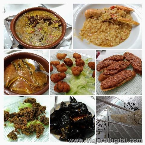 Gastronomía típica del Delta del Ebro