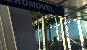 Como ir do aeroporto ao centro de porto alegre aeromovelIMG_6516