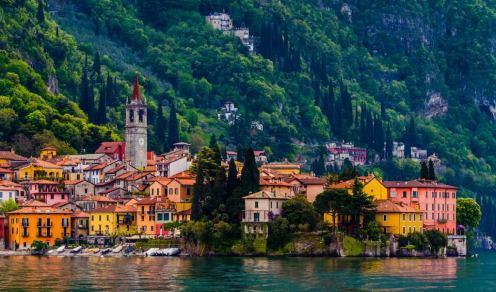 Pueblos preciosos de Italia