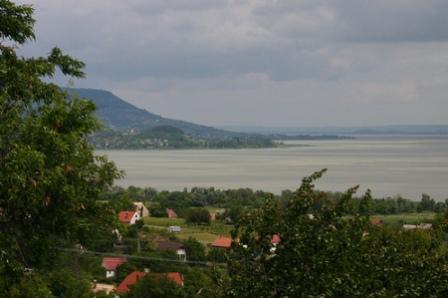 A orillas del lago Balaton
