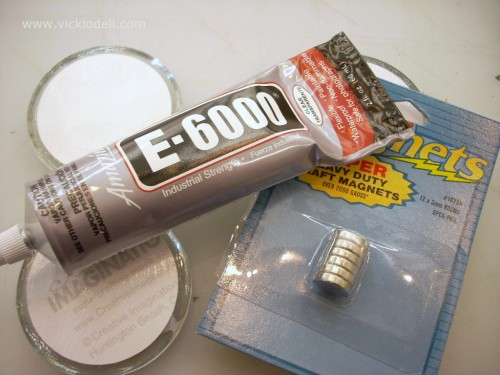 E-6000, strong magnets