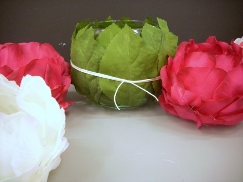 After the Wedding Ivy Bowls - Hydrangea Leaf and Rose Petal Bowls