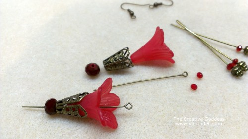 Acrylic Flower Earrings