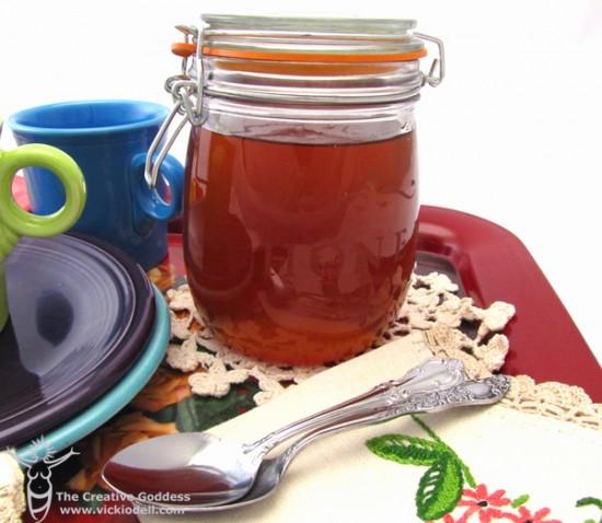 Glass Etched Honey Jar with Martha Stewart Crafts
