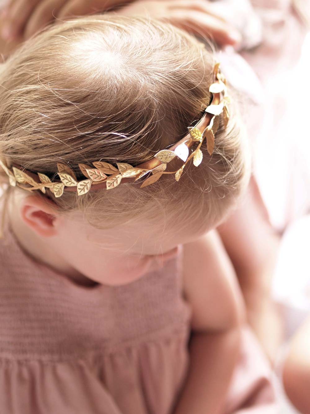 Greta Boho Laurel Leaf Headband