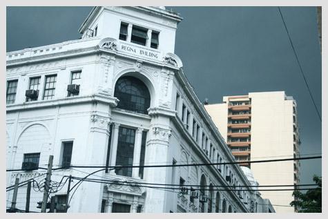Regina Building along Escolta