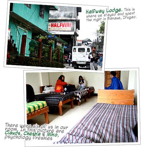 Halfway Lodge, Banaue, Ifugao
