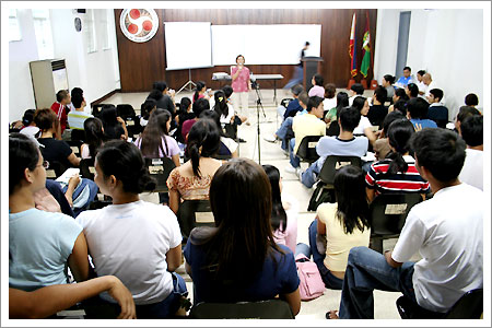 CMC Emergency General Assembly, CMC Auditorium. February 27, 2006
