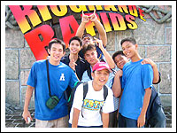 Raf, Erik, Kenny, Cid, Victor, Rene, Joseph