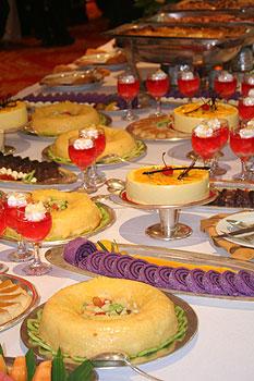The Manila Hotel food