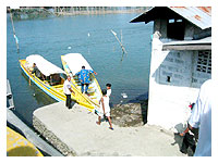 bancas under the bridge