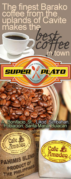 Super Plato: The finest coffee from the uplands of Cavite makes the best coffee in town