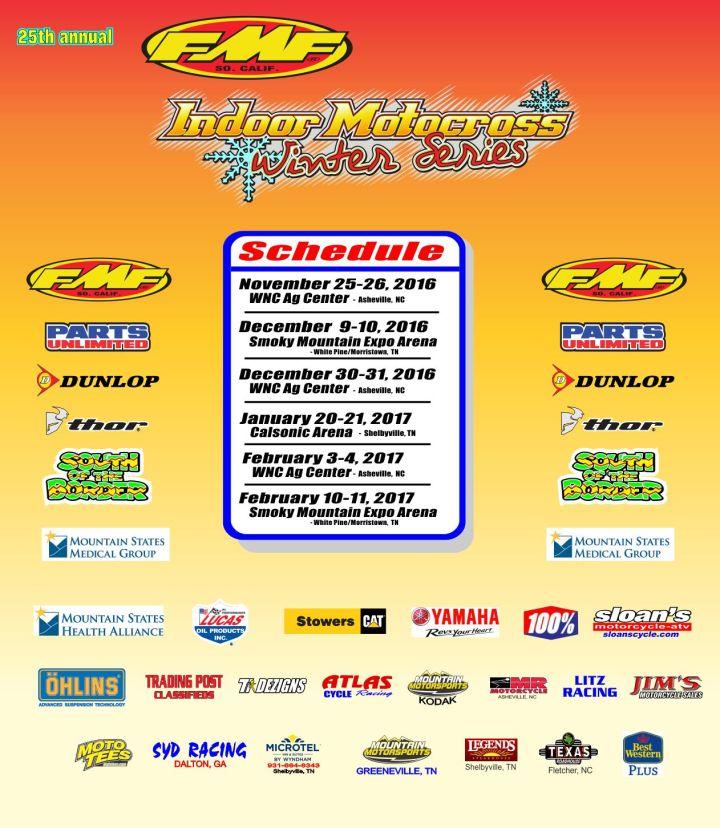 Indoor MX Schedule