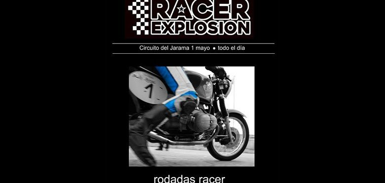 Cartel de la Racer Explosion