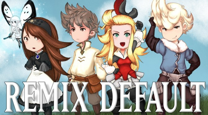 bravelydefault album cover