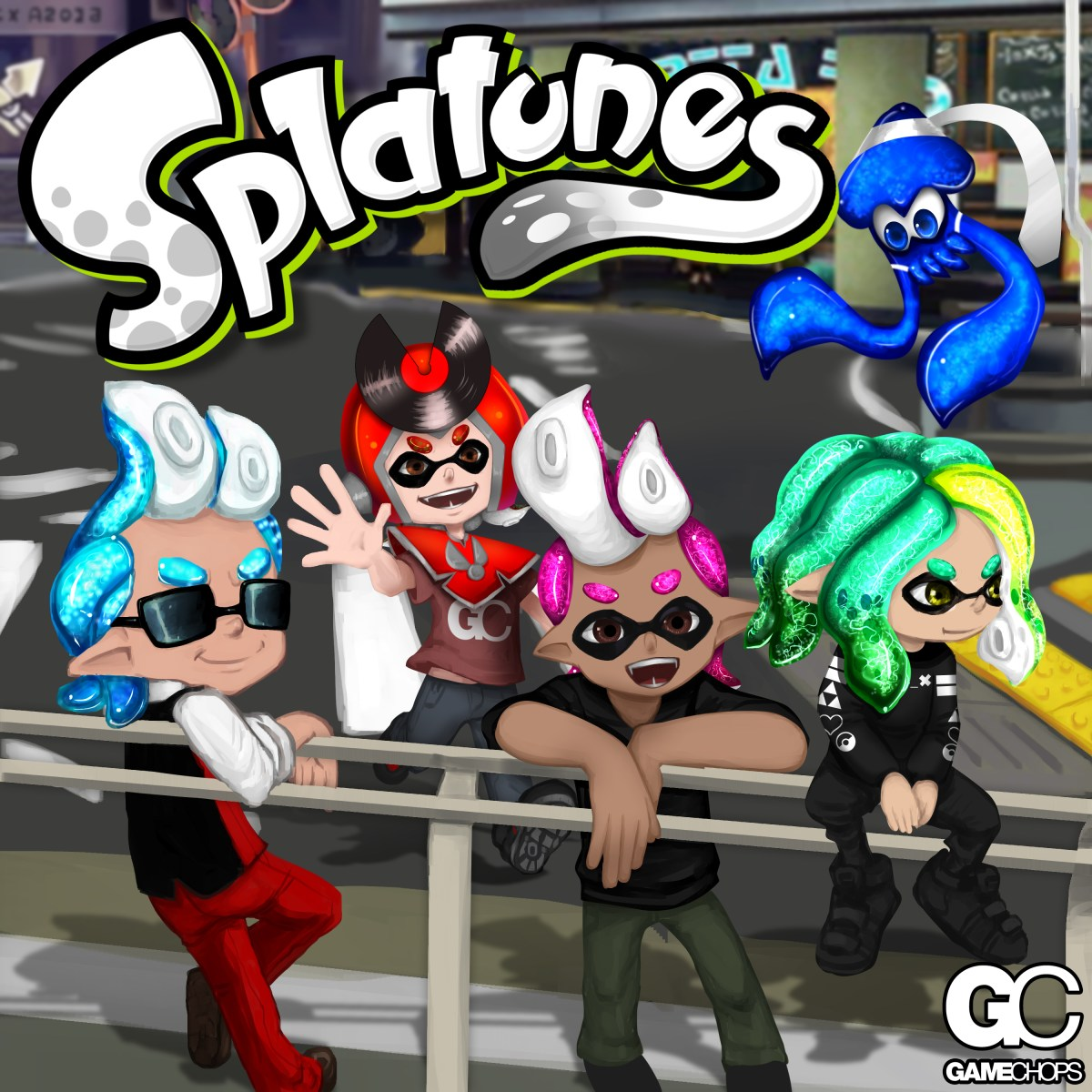 Splatunes: A Splatoon Remix Album from GameChops