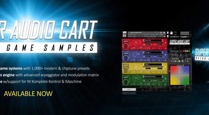 Write your own jams with Super Audio Cart!