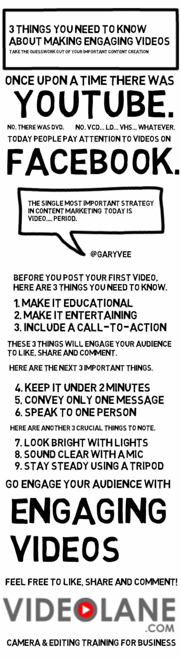 3 Things You Need to Know About Making Engaging Videos