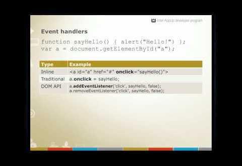 Curso de HTML5 en Video Clase 4 Interactividad