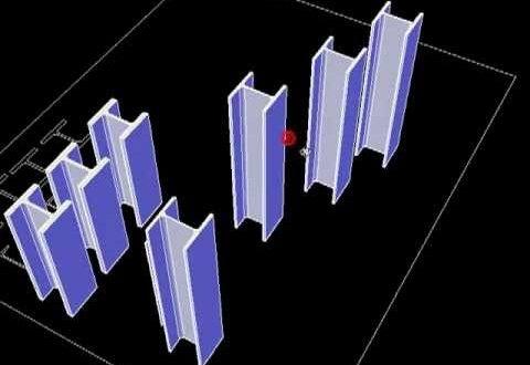 ARKITool EST Perfiles dibujar todo tipo de perfiles metálicos laminados y conformados en AutoCAD