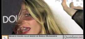 Spari e paura alle nozze di Gisele Bundchen