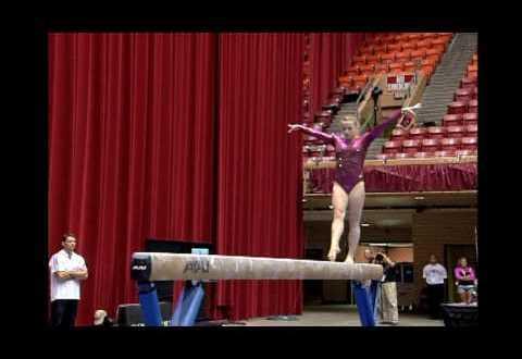 Briley Casanova Balance Beam 2009 CoverGirl Classic