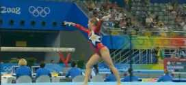 Shawn Johnson USA Qualifications FX Beijing Olympic Games 2008