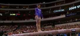 Ivana Hong Balance Beam 2009 Visa Championships Women Day 2