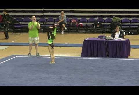 Sydney Converse s Gymnastics Floor Routine Level 10 Regional Championships