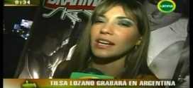 Tilsa Lozano saluda a sus Fans Argentinos