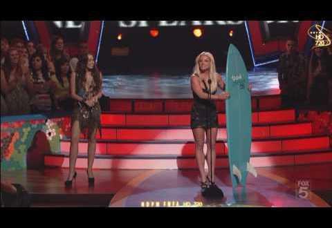 Britney Spears TEEN CHOICE AWARDS 2009 HD