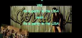 Party in the USA Miley cyrus karaoke Official oficial