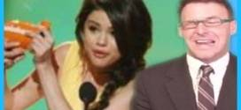 Selena Gomez Cries at Kids Choice Awards Katy Perry Gets SLIMED