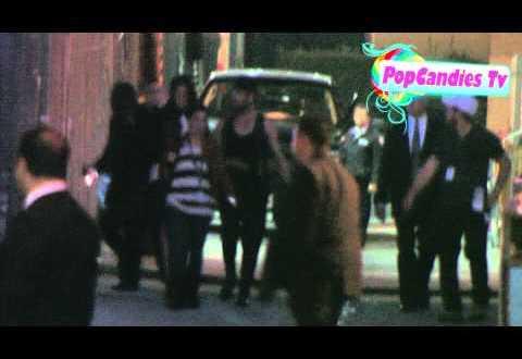 Kim Kardashian Kourtney Kardashian with Khloe Kardashian arrive in Hollywood