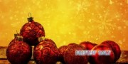 Holiday Ornaments: Winter Motion Background Loop